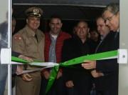 Moreira inaugura delegacia e autoriza projeto em Pescaria Brava