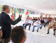 Vice-governador inaugura escola em Pescaria Brava