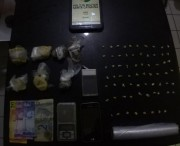 Polícia apreende porções de maconha e crack em Balneário Rincão