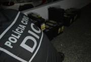 Polícia Civil apreende R$ 55 mil em baterias furtadas