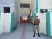 Polícia Militar reforça segurança de escola