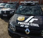 Polícia Civil indicia homem suspeito de realizar dois roubos armados