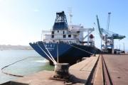 Porto de Imbituba realiza embarque recorde de 89,5 mil/t de granel sólido