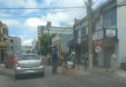 Chuva dá trégua e prefeitura retoma operação tapa-buracos
