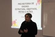 Pró-reitora faz Aula Inaugural da pós em Gestão Escolar