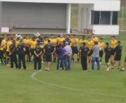Técnico Roberto Cavalo define treinos da semana do Criciúma