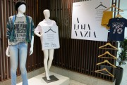 Projeto Loja Vazia segue até julho no Nações Shopping