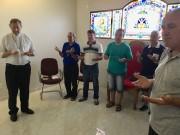 Bispo recebe membros do Terço dos Homens
