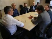 Secretário da Fazenda recebe representantes do setor de trigo de SC