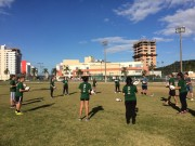 Aulas gratuitas de Rugby para jovens são oferecidas na Unisul