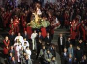 Colombo e Moreira participam da procissão de Santo Antonio dos Anjos
