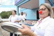 Trabalhadores fazem ato em favor da Casa de Saúde