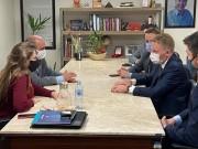 Silva Jr visita Alesc em primeira agenda oficial como chefe da Casa Civil