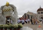 Manhã de bênçãos e inaugurações no Santuário do Coração de Jesus