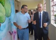 Secretário visita escolas com baixo desempenho no IDEB