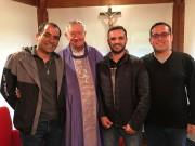 Três novos diáconos serão ordenados no próximo domingo