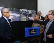 Moreira inaugura central de videomonitoramento em Siderópolis