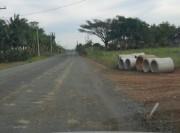 Moradores estão indignados com paralisação de pavimentação