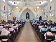 Encontro Diocesano do Terço dos Homens reúne 400 em Araranguá