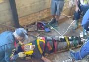 Trabalhador morre após queda em fosso de elevador de silo