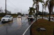 Trânsito pesado no desvio entre Içara e Criciúma