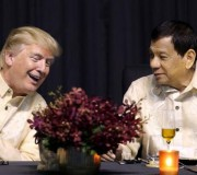 """Trump diz ter """"ótima relação"""" com Duterte e faz breve menção a direitos humanos"""
