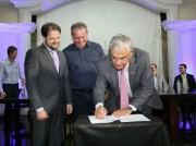 Assinado autorização para conclusão do Centro de Inovação de Tubarão