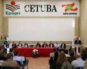 Governador inaugura Centro da Epagri e libera recursos em Tubarão