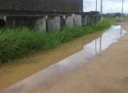 Moradores do Mareli querem retirada de tubos da macrodrenagem