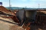 Túnel será liberado ao tráfego em menos de um mês