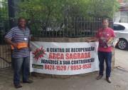 Arca Sagrada realiza pedágio no município de Içara