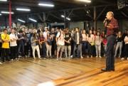 Unibave recepciona alunos em primeiro dia de aula em Orleans