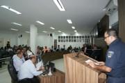Departamento de Trânsito de Içara apresentou suas ações