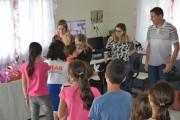 Crianças do SCFV de Jacinto participam de confraternização