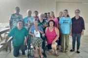 O vereador Jair Anastácio visita Clube de Mães