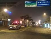 PM reforça ostensividade em Araranguá, Arroio do Silva e Maracajá