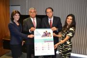 Governador Eduardo Moreira busca recursos em Brasília e firma parceria com Ministério do Trabalho
