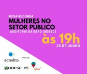 Mesa redonda discute a participação das mulheres no setor público