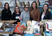 Escola São Rafael recebe 1,4 mil livros de campanha solidária