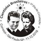 Emissão especial dos Correios homenageia cientistas brasileiros