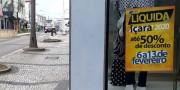 Comércio de Içara terá liquidação a partir de quinta-feira