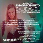 Sesi de Criciúma lança Grupo de Emagrecimento