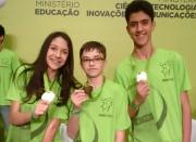 Alunos de Içara recebem medalhas da OBMEP