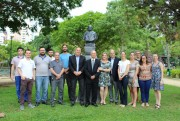 Ruy Hulse é homenageado com busto na Praça do Congresso