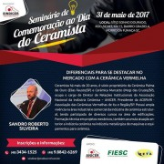 Seminário discute desafios e oportunidades para a cerâmica em Morro da Fumaça