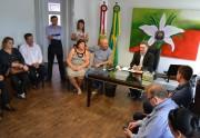 Prefeitos da Amesc pedem apoio de Acélio para início de obras
