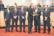 Ademir Magagnin recebe homenagem na ALESC