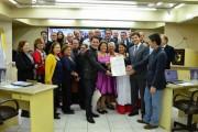 Grupo de dança recebe moção de aplauso no Legislativo