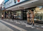 Polícia Militar de Araranguá reforça presença na área central