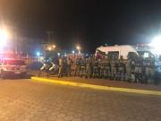 PM reforça policiamento e garante a segurança na Festa do Peixe